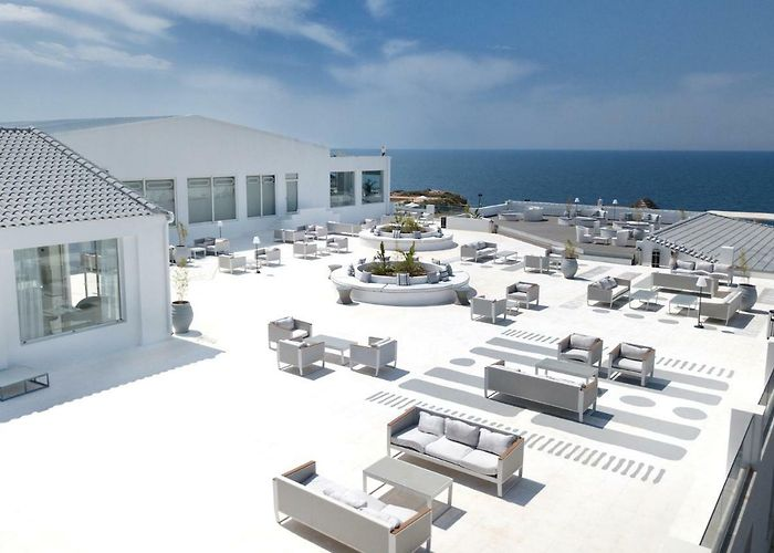 Mr Mrs White Crete Lounge Resort Spa Stavros 5 Greece Rates From 358
